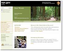 The National Park Service website for Muir Woods